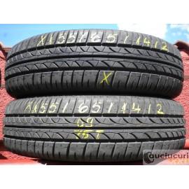 Cauciucuri 155/65/14 Bridgestone pentru vara 2 bucati semi-noi