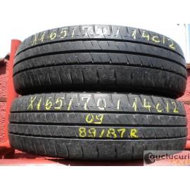 Cauciucuri 165/70/14C Michelin pentru vara 2 bucati