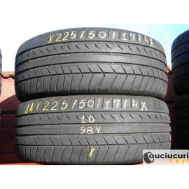 Cauciucuri 225/50/17 Dunlop SP Maxx TT pentru vara 2 bucati