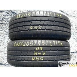Cauciucuri 205/45/17 Pirelli RSC pentru vara 2 bucati