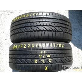 Cauciucuri 225/45/17 Dunlop RSC pentru vara 2 bucati aproape noi