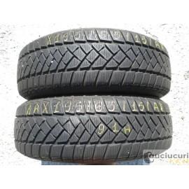 Cauciucuri 195/65/15 Dunlop pentru iarna 2 bucati aproape noi