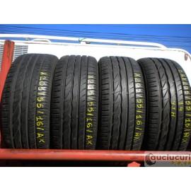 Cauciucuri 205/55/16 Bridgestone pentru vara 4 bucati semi-noi