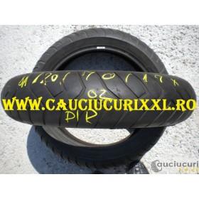 Cauciuc 120/70/17 Pirelli Dragon Evo PROMOTIE